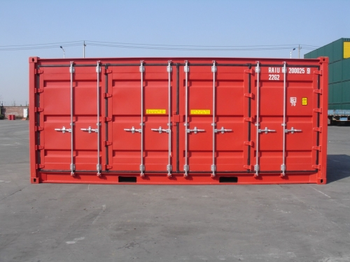 Double-Side-Door-Container Seitenansicht