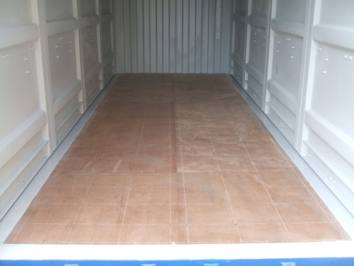 Double-Side-Door-Container Innenansicht