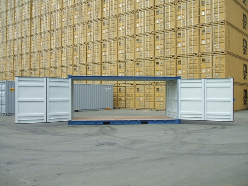20´- Double-Side-Door-Container