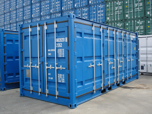 Side-Door-Container RAL 5010